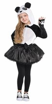 AMSCAN Panda Halloween Costume for Girls, Medium, with Included Accessories - $29.39