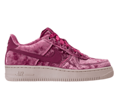 Nike Air Force 1 LV8 (GS) Low Velvet Tea Berry Kids Size 7Y - $42.95