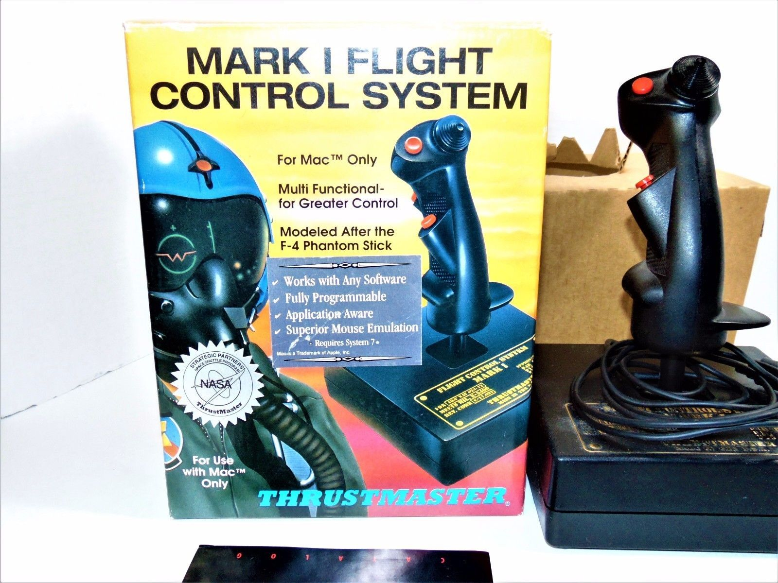 Thrustmaster Flight Control System Mark  Joystick For Mac