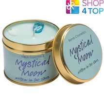 MYSTICAL MOON TINNED CANDLE TIN BOMB COSMETICS LAVENDER SCENTED NEW - €11,06 EUR