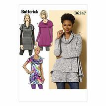 BUTTERICK PATTERNS B62470Y0 Misses Tunic, Y (XSM-SML-MED) - $2.94