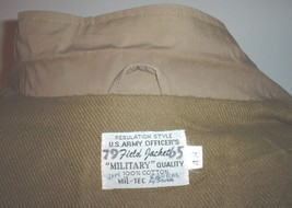 "REPRODUCTION US Army M-41 field jacket size 48 by ""Mil Tech""; great shape! - $50.00"