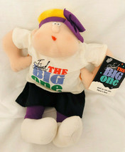 Vtg. Hallmark Novelty Cloth Doll  I Survived The Big One Over The Hill  ... - $9.89