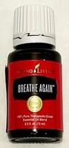 New Young Living Therapeutic Essential Oils 15mL Breathe Again Respirato... - $39.55