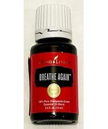 New Young Living Therapeutic Essential Oils 15mL Breathe Again Respirato... - $39.55