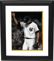 Jack McDowell signed New York Yankees 8X10 Photo Custom Framed (Middle Finger-Br - $98.95