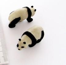 Doll House Shoppe 3 Toy Panda Figures 11531 Micro-Mini Miniature Animal - $3.93