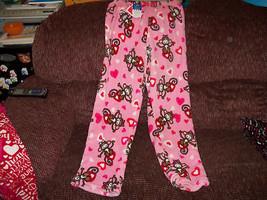 Sleepwear Monkey On Hearts PJ Pants Size 4/5 (XS) Girl's New LAST ONE - $17.80
