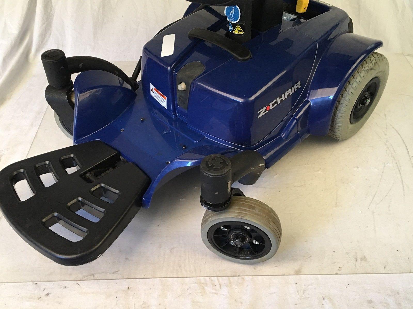 Pride ZChair Power Wheelchairs w/ Pg Drives 4 Key Joystick