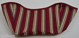 Longaberger Get Together Basket Liner Holiday Stripe Collectible Accesso... - $12.99