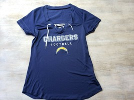 NFL Team Apparel Womens Chargers Football Top Size M - $8.41