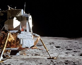 Apollo 14 Lunar Module LM Antares on the surface of the Moon Photo Print - $8.81