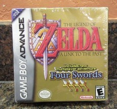 Legend of Zelda: A Link to the Past (Nintendo Game Boy Advance, 2002)  - $79.19