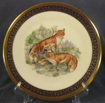 Red Foxes Lenox Edward Boehm Woodland Wildlife Decorative Plate 1974 Lim... - $47.95
