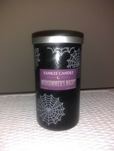 Perfect Pillar Candle by Yankee Candle 12 oz Midsummers Night limited ed... - $26.99