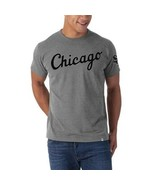 MLB Chicago White Sox T Shirt  Embroidered Retro 2XL Grey Vintage New Co... - $28.66