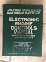 1990-1992 Chilton's Electronic Engine Controls Manual FORD CHRY JEEP  - $10.50