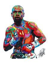 "Floyd Mayweather, Boxer, World Champion, Lightweight 18""x24"" Art Print 1  - $19.99"