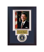Ronald Reagan 40 th President of the USA Autograph print signed photo FR... - $19.27