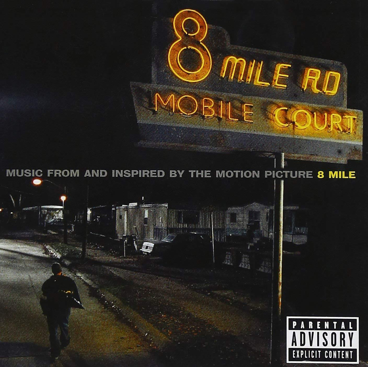 Eminem - 8 Mile [Explicit] Audio CD 2002, Music Inspired by the movie soundtrack