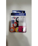 New Genuine Brother LC201 Magenta Ink Cartridges MFC-J485DW MFC-J460DW - $7.49