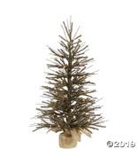 "Vickerman 24"" Vienna Twig Christmas Tree with Clear Lights - $50.25"