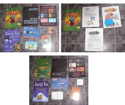 Whack A Mole Press kit + Asstd Promos Doggy Poo Japanese Characters + More - $13.99