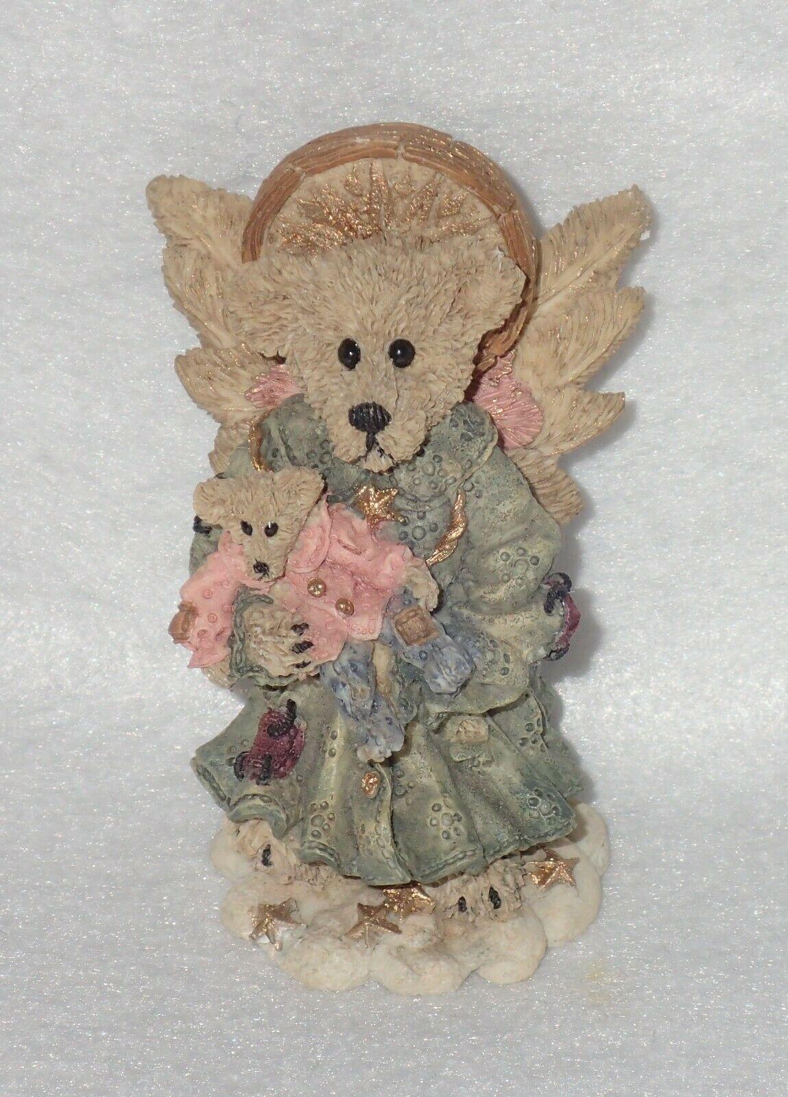 Boyd Bearstone Resin Bears Zoe The Angel Of Life Figurine #2286 NEW IN BOX