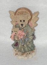 Boyd Bearstone Resin Bears Zoe The Angel Of Life Figurine #2286 NEW IN BOX - $8.56