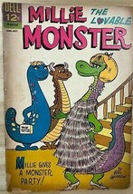 MILLIE THE LOVABLE MONSTER #2 (1963) Dell Comics VG - $9.89