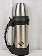 "Thermos ""The Rock"" Stainless Steel Beverage Bottle - THERMAX Max Insulation - $15.00"