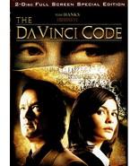 The Da Vinci Code, Special Edition (DVD 2006) Tom Hanks, Full Screen - $9.99