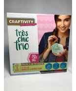 Crafting Fun - Craftivity for Kids - Tres Chic Trio Craft Kit New!! - $6.92