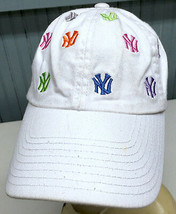 New York Yankees Cooperstown American Needle Strapback Baseball Cap Hat - $21.11