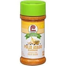 LAWRY'S Casero Pollo Asado Seasoning 12.5 oz - $14.99
