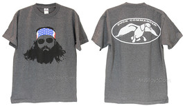 New Duck Dynasty Commander T-Shirt Tee Willie Robertson w/ Flag Bandana Size M/L - $19.99