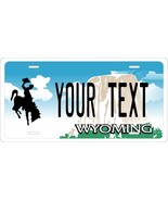 Wyoming 2000 License Plate Personalized Custom Car Bike Motorcycle Moped... - $10.99+