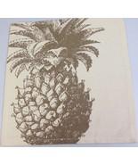 Pineapple cloth fabric Napkin Handmade eco friendly by Simrin - $10.07