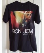 T-Shirt 2013 Bon Jovi Because We Can North America Tour Black S Adult Hanes - $16.99