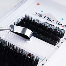 Eyelash Extension Supplies,Ellipse Flat Lashes 0.15 Mink Lashes D Curl Lash Exte image 4