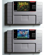 Secret of Mana 1 & 2 Super Nintendo - Reproduction Snes Carts - RPG - $34.99