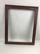 14 X 18 Ashland Dark Walnut / Oak Art USA MADE Traditional Wood Picture ... - $29.69