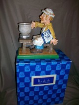 DAVID FRYKMAN PORTFOLIO FIGURINE ENGLISH COLLECTION MAN AT POTTERY WHEEL - $19.79