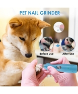 Pet Nail Grinder USB Rechargeable Painless Nail Trimmer Quiet Electric D... - $41.20+
