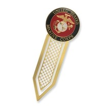 MARINE CORPS USMC METAL BOOKMARK  CHALLENGE COIN - $17.09