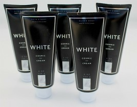 Bath & Body Works White Cosmic Cream Lot of 5 NEW Body Black White Colle... - $39.99