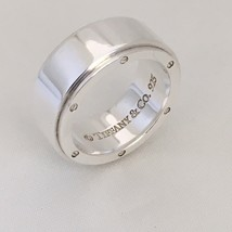Tiffany & Co Sterling Silver Unisex Metropolis Ring Size 7.5 - $199.00
