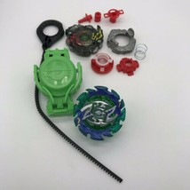 Beyblade Parts & Pieces Disassembled Just As Pictured Red Green & Aqua Blue -o - $14.99