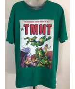 NWOT Mens Green TMNT Teenage Mutant Ninja Turtles Super Heroes T-Shirt sz L - $24.74