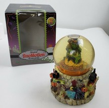 SnoMotion Witch Water Snow Globe Kcare Halloween Decor Home Collection - $14.84